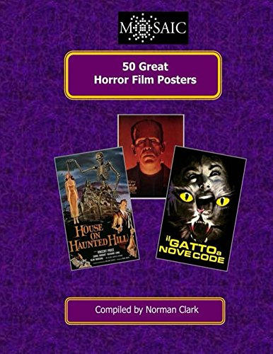 50 Great Horror Film Posters (50 Great Film Posters Book 8) (English Edition)