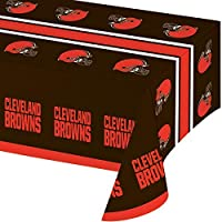 Cleveland Browns Plastic Tablecloths, 3 ct [並行輸入品]