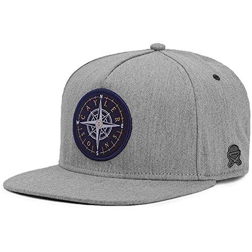 Cayler & Sons C&s Cl Navigating Cap Gorra de béisbol, Grey Heather/Navy, One Size Unisex Adulto