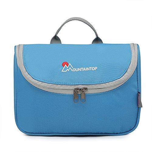 Mountaintop Kulturbeutel Kosmetiktasche Kulturtasche zum Aufhängen Toiletry Bag Waschtasche für Reise Urlaub