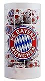 FC Bayern München - Bayern-Schokoladenfußbälle - Weihnachten 2019 - Schokobälle-Dose (125 g) - Schoko - Fußball - Logo - Liga - Fanartikel - Schokobälle - Kugeln - (7,16 € / 100 g)
