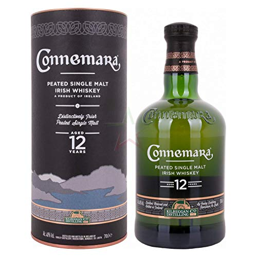 Connemara 12 Years Old Peated Single Malt Irish Whiskey 40,00% 0,70 Liter