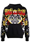 Versace Jeans Couture - Sudadera para hombre, color negro Negro M
