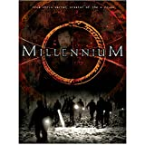 Millennium (TV Series 1996 - 1999) 8 Inch x 10 Inch Photograph People w/Flashlights Title Poster kn