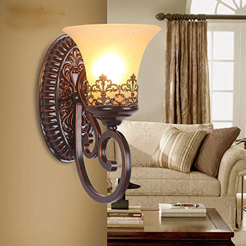 Wohnzimmerwandlampe der Schlafzimmernachtwandlampenhotellobbywandlampe europische Wandlampe Retro- Korridorrestaurantkaffee Retro-