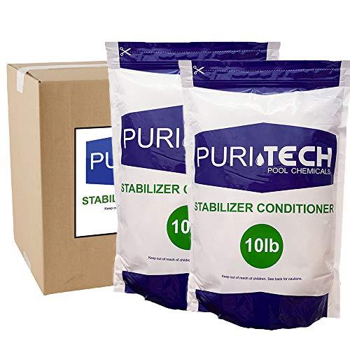 PuriTech Cyanuric Acid for Pools – 20 lbs.