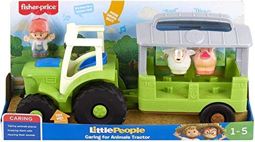 Fisher-Price GTM00 Little People Cuidado de Animales Tractor