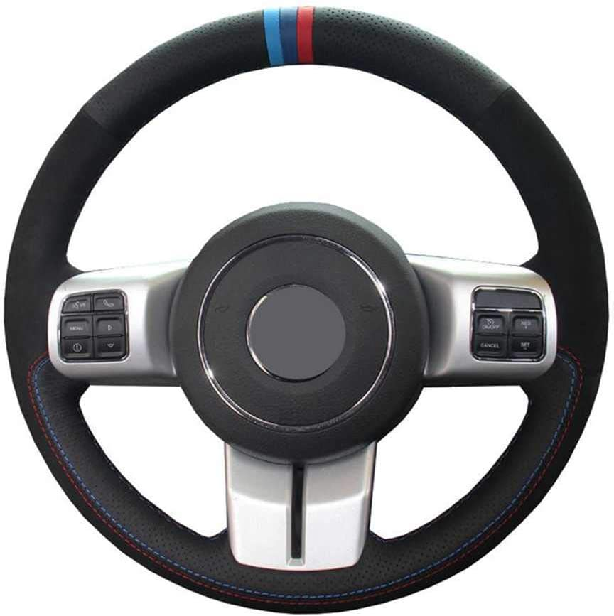 LYSHUI Car Steering Wheel CoverSuede Fit cheap for Compas Jeep Leather Max 77% OFF