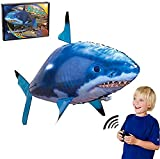 Toy Remote Control Air Swimmers Flying Shark And Clownfish Through The Room for Kids Children DIY Plastic Inflatable Balloon Toy