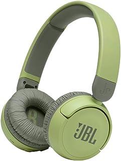 JR310BT سماعة رأس لاسلكية للأطفال خضراء اللون، تخفض الصوت لاستماع آمن، من JBL