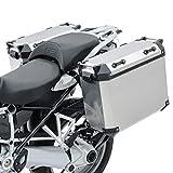 Set Maletas Aluminio Compatible para KTM 390 Adventure 20-21 + portamaletas ADX70