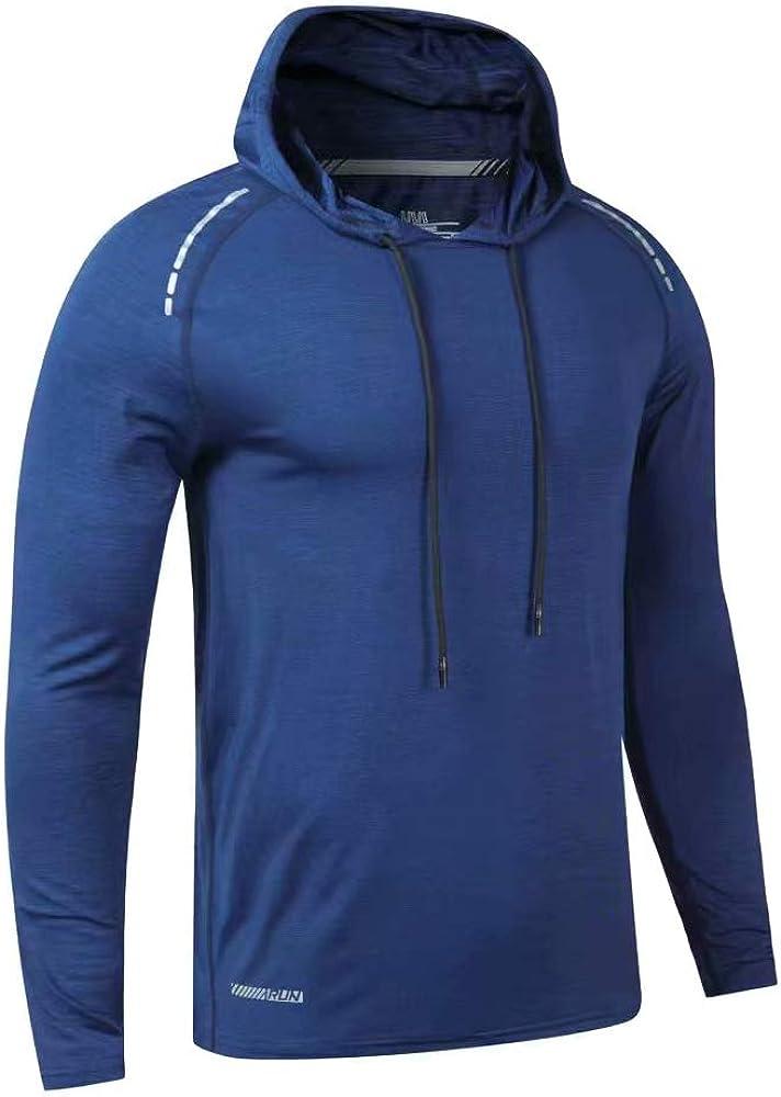 palglg Men's Max 40% OFF Bodybuilding Tapered Slim Sweatshirts Fit Phoenix Mall Ho Active