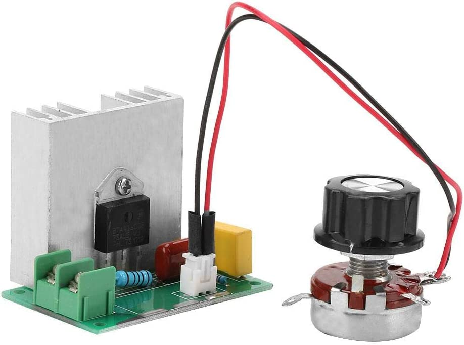 Regular store AC Inventory cleanup selling sale 0-220V 4000W 40A Motor Speed Voltage Controller Regulator