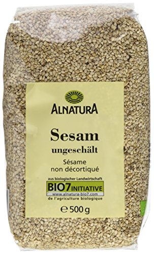 Alnatura Bio Sesam ungeschält, 6er Pack (6 x 500 g)