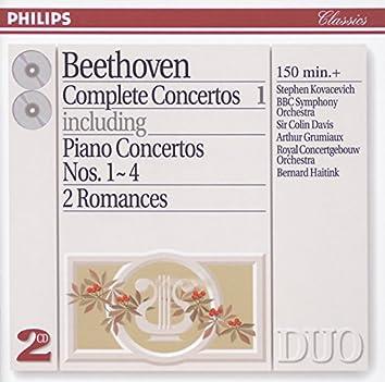 Beethoven: Complete Concertos Vol.1 - Piano Concertos Nos.1 - 4 etc.