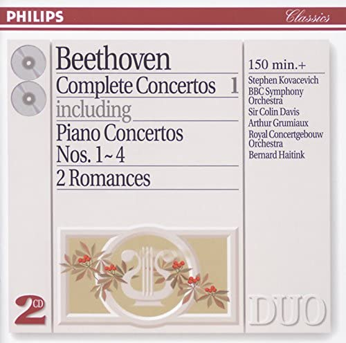 Stephen Kovacevich, BBC Symphony Orchestra, Sir Colin Davis, Arthur Grumiaux, Concertgebouworkest & Bernard Haitink