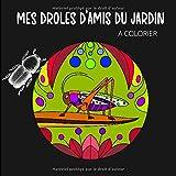 Mes Amis du Jardin à colorier: Livre de coloriage insectes. De drôles de bestioles à colorier pour les enfants comme pour les adultes, un exorcisme haut en couleur!