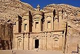 Puzzle De 1000 Piezas Ad Deir En La Antigua Ciudad Jordana De Petra, Jordania Arte Bricolaje para Adultos Mayores Adultos