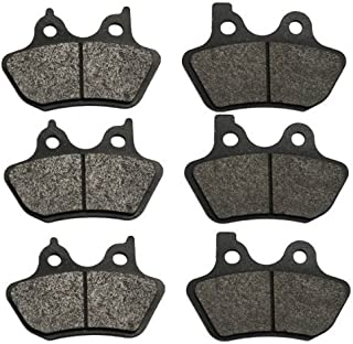 Volar Front & Rear Brake Pads for 2000-2003 Harley Dyna Low Rider FXDL