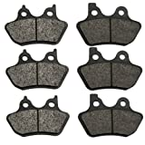 Volar Front & Rear Brake Pads for 2002-2004 Harley V-Rod
