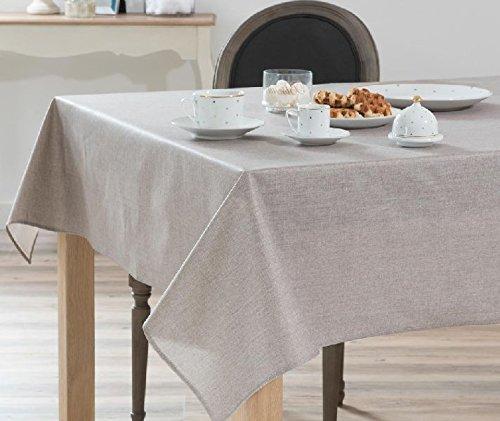 Mondial-fete - Nappe intissée grise en soft imperméable - 1.20 x 2.50 mètres