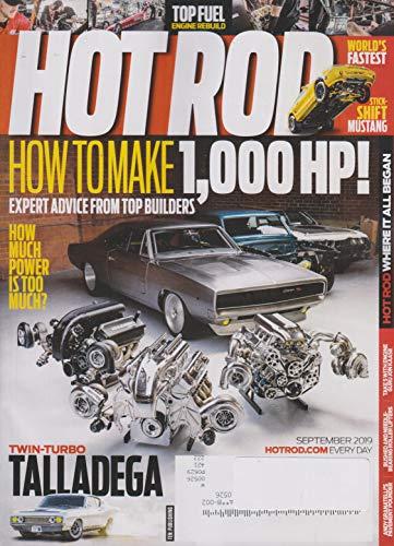 Hot Rod September 2019 How To Make 1,000 HP!