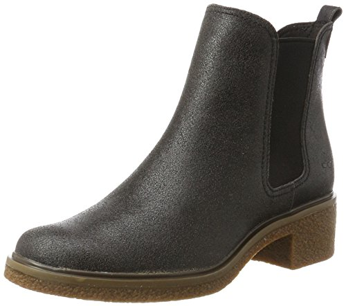 Timberland Damen Brinda Double Gore Chelsea Pull-On Chukka Boots, Grau (Forged Iron), 40 EU