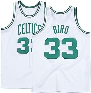 Youth Bird Jersey 33 Kids Boston Boys Basketball Larry