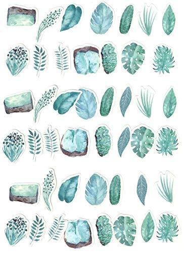 Top Stickers! Pack van 45 Planten en Bladeren Kleine Stickers - Sticker HD - Pas alles aan wat je wilt, Scrapbooking, DIY, Wall, Bike, Moto, Home, maatwerk, aanpassen