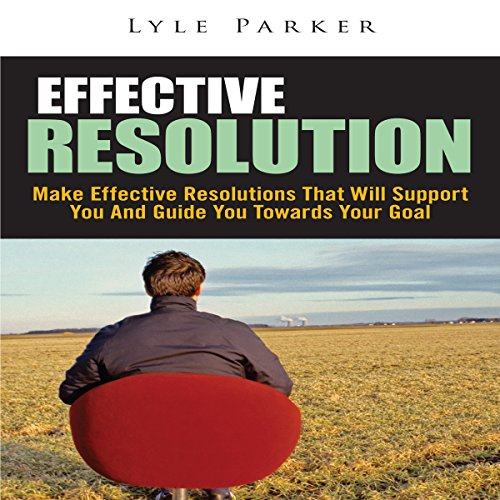 Effective Resolution audiobook cover art