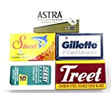 Cuchillas de afeitar Astra, Derby, Shark, Treet, Platinum