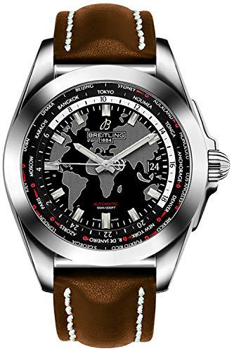 Breitling Galactic Unitime Mens Watch WB3510U4/BD94-437X