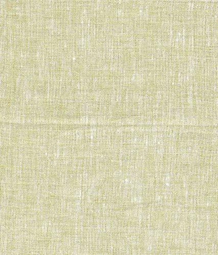 "GLORIA FASHION- Unstitched Linen Cotton Shirt and Kurta Fabrics for Men Color: Pista , 2 mtr Cut, width-44""/cc-109"