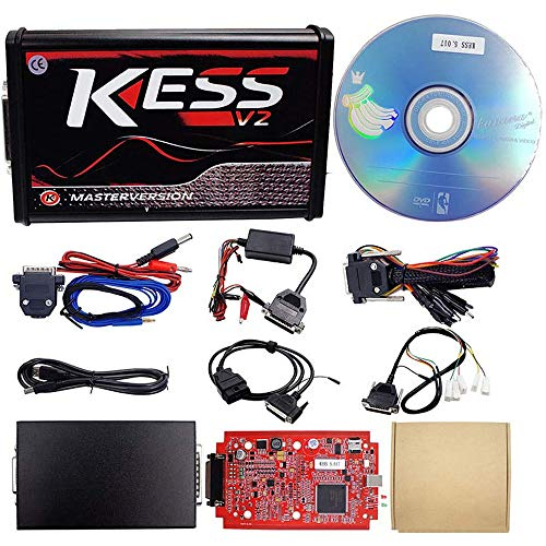 WXS La Modificación del Coche Kit Completo Kess V2 V5.017 Versión En Línea Y Sin Límite De Token De Optimización del Manager V2.47 OBD2 Kit De Herramientas Automático De Programación De La Centralita