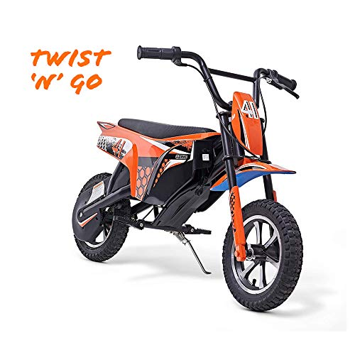 Zinc Pit Bike Electric Ride-on 250 W Motorbike, Up to 63 kg,...