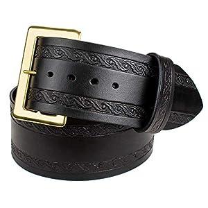 Genuine Leather Santa Costume Belt