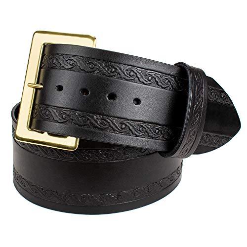Genuine Leather Santa Costume Belt (Medium)