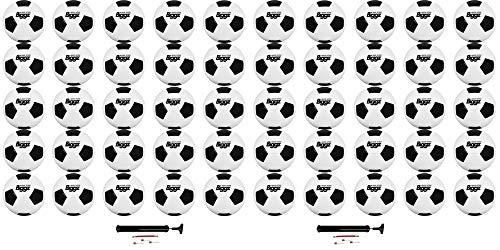 Jsport (50 Pack) Soccer Balls Missionary Wholesale Bulk - Size 5