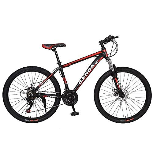 jooe Bicicleta De Montaña, Cuadro De 26 Pulgadas, Todoterreno, con Suspensión Delantera, Freno De Disco