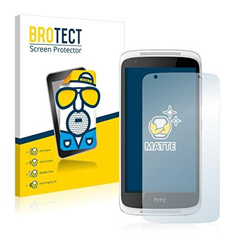 BROTECT 2X Entspiegelungs-Schutzfolie kompatibel mit HTC Desire 526G Plus Bildschirmschutz-Folie Matt, Anti-Reflex, Anti-Fingerprint