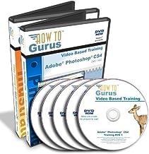 Adobe Photoshop CS4 Tutorial and Adobe Illustrator CS4 Training on 5 DVDs