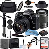 Best Mirrorless Cameras - Canon EOS M50 Mirrorless Digital Camera (Black) with18-150mm Review