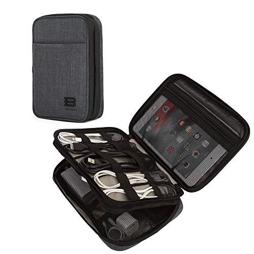 YXZQ Tech Pouch Travel, Electronics Accesorios Estuche Organizador de Doble Capa para...