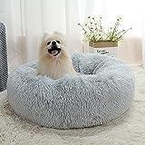 HoldPro 猫 ベッド 犬 ベッド 内面はポケット付き 滑り止め ペットベッド 通気性いい 分厚い 長毛 ペットクッション 洗える 老犬 子犬 通年使える サイズ色選択可