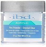 IBD polvo de Flex, cristal transparente, 21g