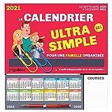 FrigoBloc Le calendrier ultra simple pour une famille organisée ! De Sept 2020 à Déc 2021