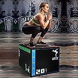Holleyweb 3 in 1 Foam Plyometric Jump Box 20