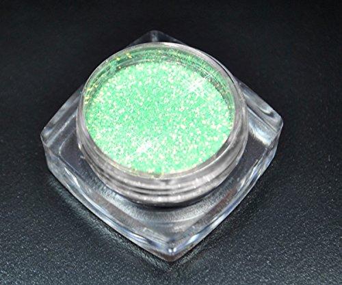 Premium Glitzer Glitter Puder Türkis Blau Summer Sea für Nailart
