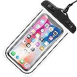 Alogy - Custodia universale impermeabile IPX8 fino a 6,5' per proteggere il telefono dalle inondazioni (Dark) universale in silicone per telefono
