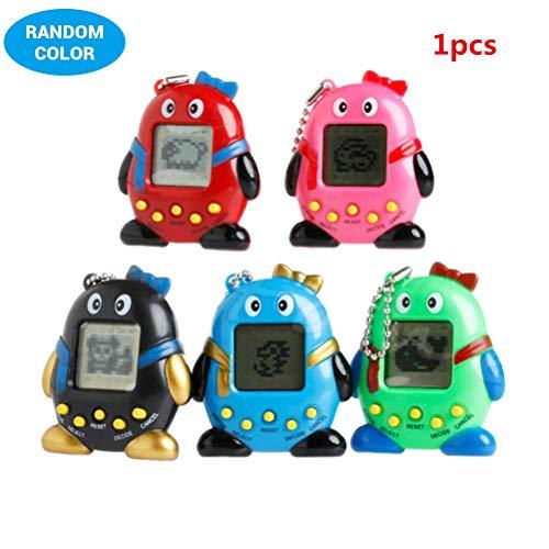 Zufällige Mini Kind Tamagotchi elektronische virtuelle Cyber Tiny Pet Toy Game Machine elektronische Pet Game Machine für Kinder